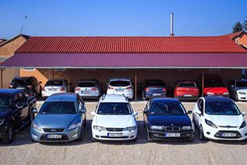 Szabadtéri parkoló